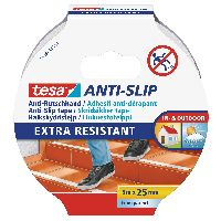 tesa 55587-00000-11 tesa Anti-Rutschband, transparent, 5m x 25mm