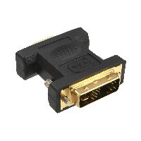 InLine 17780P InLine® DVI-A Adapter, Analog 12+5 Stecker auf 15pol HD