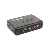 InLine 60612I InLine® KVM Switch, 2-fach, USB, mit Audio