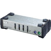 Aten CS84A ATEN CS84A KVM-Switch 4-fach, PS/2