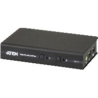 Aten CS72D ATEN CS72D KVM-Switch, 2-fach, DVI, USB, Audio, kompakt