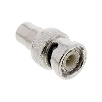 InLine 99321 InLine® Video Adapter, 1x Cinch Buchse auf BNC Stecker