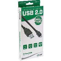 InLine S-31710 InLine® Basic Micro-USB 2.0 Kabel, USB-A an Micro-B ST/